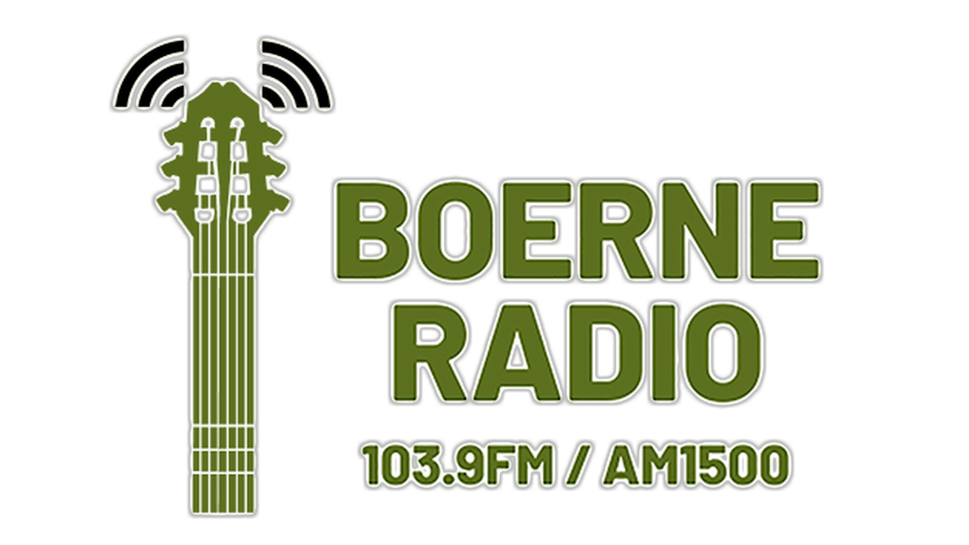 BoerneRadio logo With surround edge