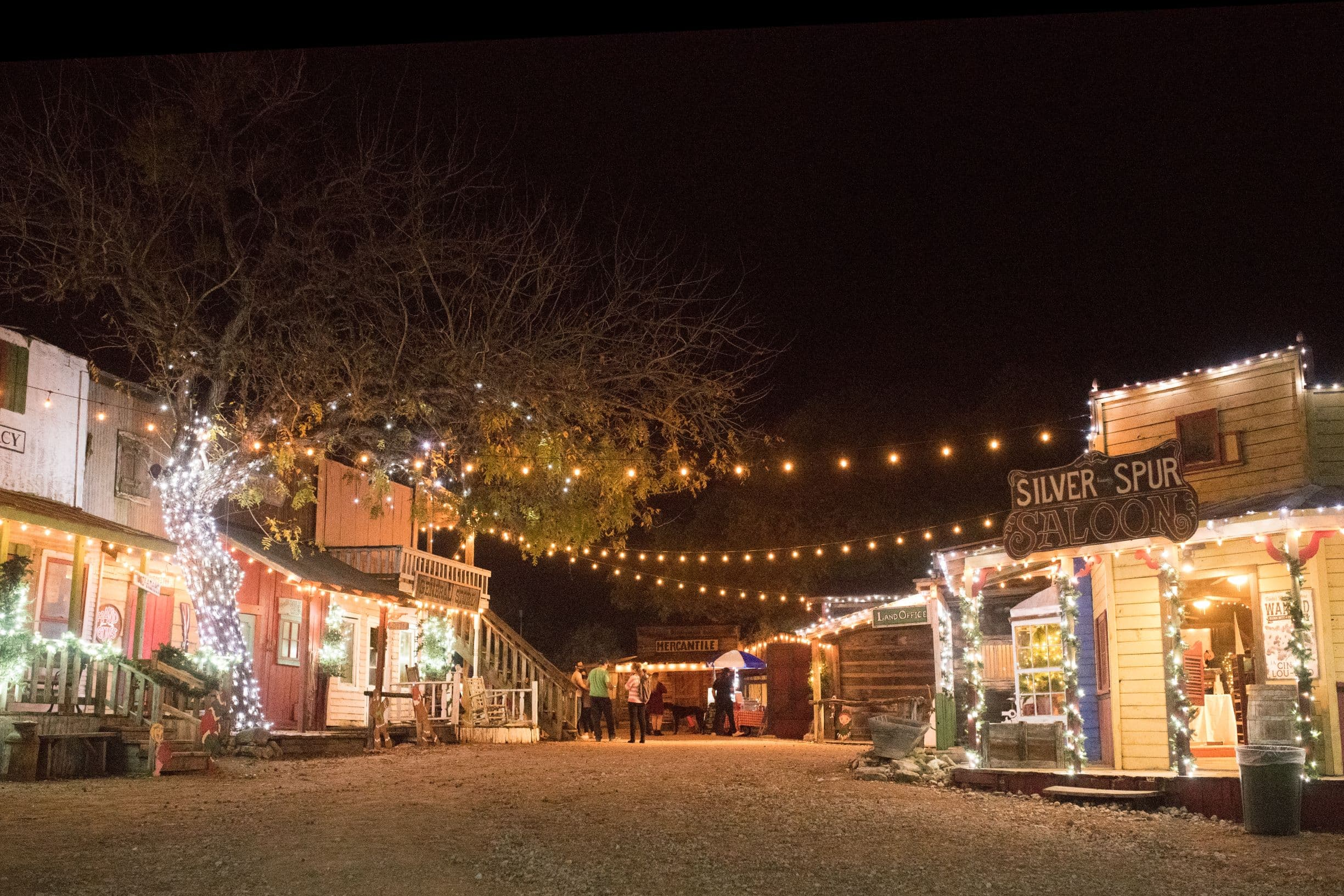 San Antonio Christmas Lights | Best Christmas Lights in San Antonio | Old west Christmas Light Fest at Enchanted Springs Ranch